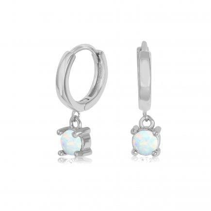 OPAL-earrings-SILVER-HOOPS