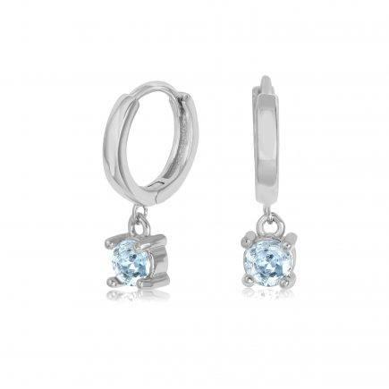 -silver-hoopsAQUAMARINE-earrings