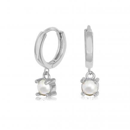 PEARL-earrings-SILVER-HOOPS