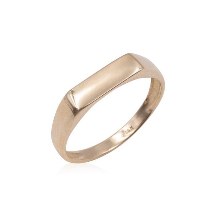 STAMP-GOLD-RING-14K