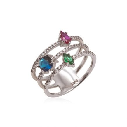COLOR-SILVER-RING