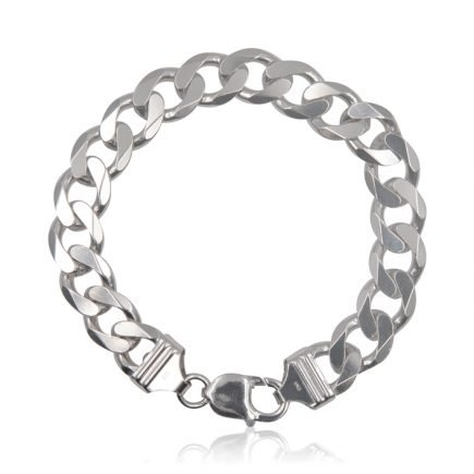 man-womn-chain- brcelet-silver