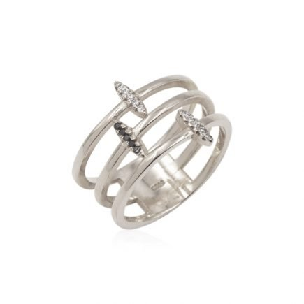 LAYERS-SILVER-RING