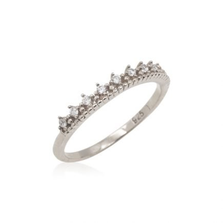 CROWN-SILVER-RING