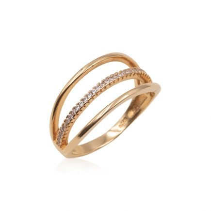 LINES-SILVER-RING-GOLD