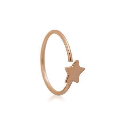 GOLD-STAR-HELIX-EARRING