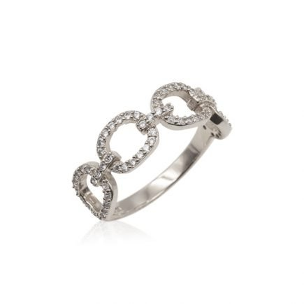 CHAIN-SILVER-RING